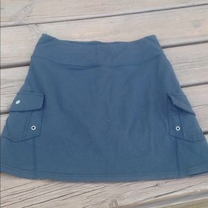 Athleta skirt with built in shorts